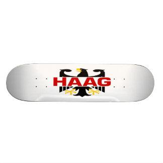 Haag Surname Skate Deck