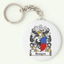 Haagen Family Crest Keychain
