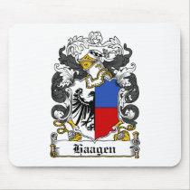 Haagen Family Crest Mousepad