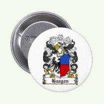 Haagen Family Crest Button