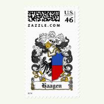 Haagen Family Crest Stamps