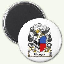 Haagen Family Crest Magnet