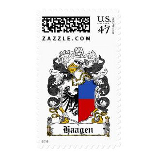 Haagen Family Crest Stamp