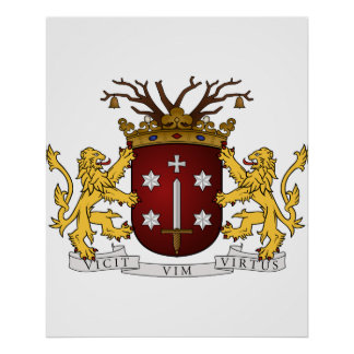 Haarlem wapen, Netherlands Poster