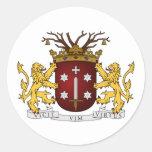 Haarlem wapen, Países Bajos Pegatina
