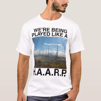 HAARP Conspiracy theory t-shirt