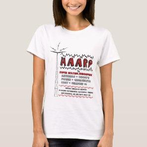 HAARP super heating the ionosphere T-Shirt