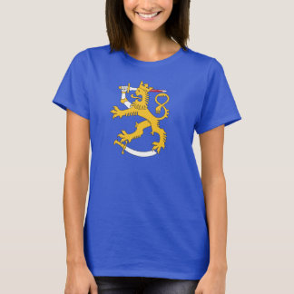 Haavoittunut suomileijona t-paita T-Shirt