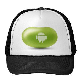 Haba de jalea androide gorros