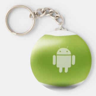 Haba de jalea androide llavero personalizado