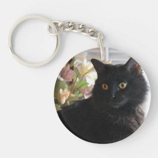 Haba de jalea, el gato negro del regaliz, llavero