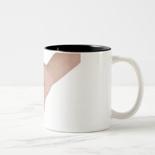 Haba de jalea taza de café