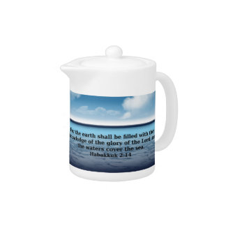 Habakkuk 214 bible verse quote teapot