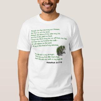 Habakkuk 3:17-19 t-shirt