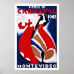 Habana Carnaval Havana Carnival 1942 Print