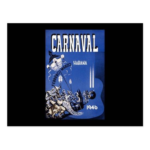 Habana Carnaval Havana Carnival Post Cards