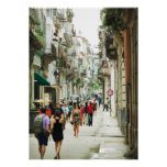 "Habana Vieja 20"" x 28"" poster (brillante)"