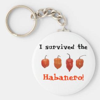 Habanero Peppers Keychains