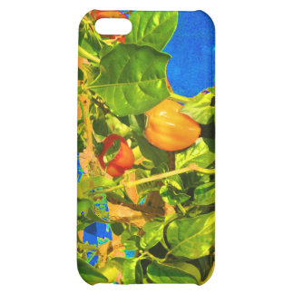Habanero Peppers on Plant Trippy photo iPhone 5C Covers