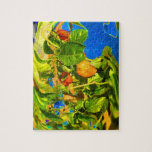 Habanero Peppers on Plant Trippy photo Jigsaw Puzzles