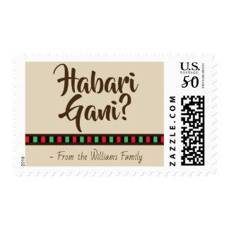Habari Gani - Kwanzaa items | Stamp