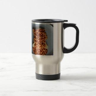 Habas británicas en el regalo del chiste de la com taza de café