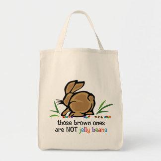 Habas de jalea de Brown Bolsa Tela Para La Compra