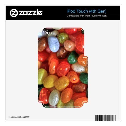 Habas de jalea iPod touch 4G skins