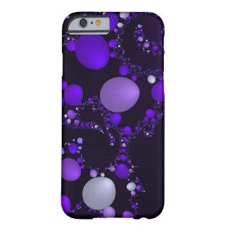 Habas de jalea púrpuras funda de iPhone 6 barely there