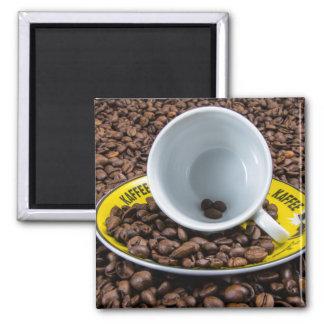 Habas de Kaffee Imán Cuadrado