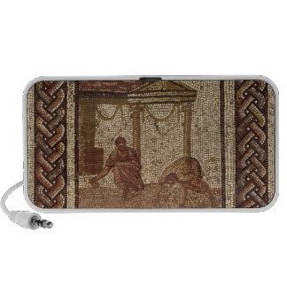 Habas de la siembra, de Santo-Romano-en-Galón Laptop Altavoces