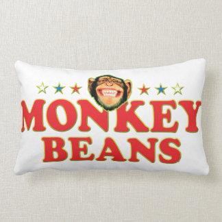 Habas enrrolladas del mono almohada