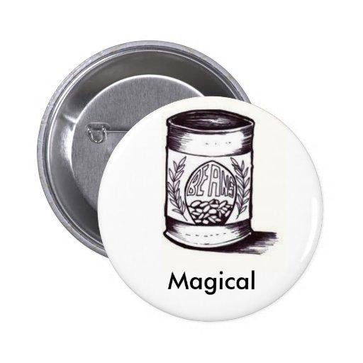 habas, mágicas pin