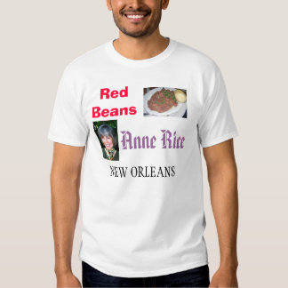 Habas rojas/Anne Rice de New Orleans Playeras