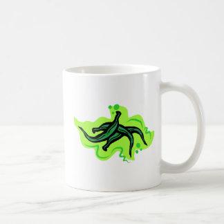 Habas verdes taza