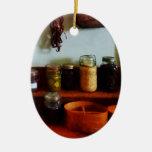 Habas y jaleas de las salmueras ornamento para arbol de navidad