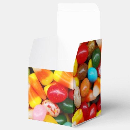 Habas y pastillas de caramelo de jalea cajas para regalos