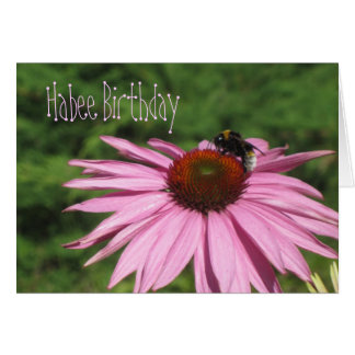 Habee Birthday Greeting Card