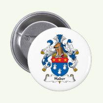 Haber Family Crest Button