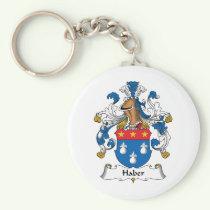 Haber Family Crest Keychain
