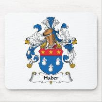 Haber Family Crest Mousepad