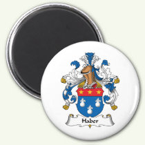 Haber Family Crest Magnet