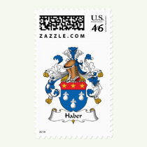 Haber Family Crest Stamps