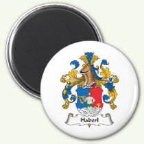 Haberl Family Crest Magnet