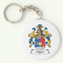 Haberl Family Crest Keychain