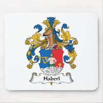 Haberl Family Crest Mousepad