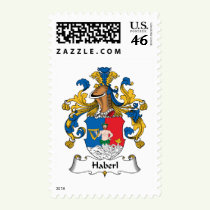 Haberl Family Crest Stamps