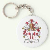 Habern Family Crest Keychain