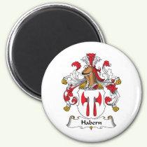 Habern Family Crest Magnet