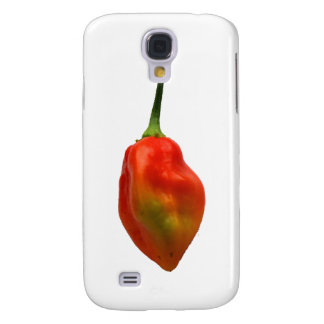 Habernero Single Pepper Photograph Samsung Galaxy S4 Case